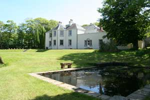 Oatfield House and pond