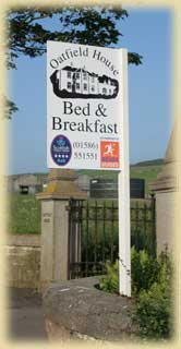 photo of B&B sign
